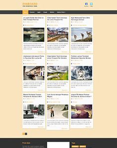 Best Premium WordPress Themes For a Kickass Website Version) Joomla Templates, Wordpress Template, Facebook Features, Grid Layouts, Premium Wordpress Themes, Cool Websites, Website Template, 100 Free