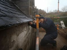 The Dower House Restoration Project: Gutters and chimneys!