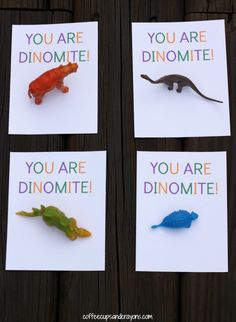 You are DINO-Mite Free Printable Valentines for Kids!