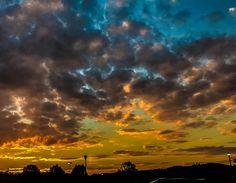 What a beautiful Smoky Mountain sunset!