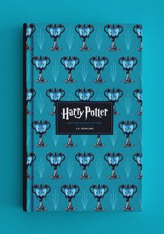 Harry Potter Tribute: Book Covers by Raxenne Maniquiz, via Behance