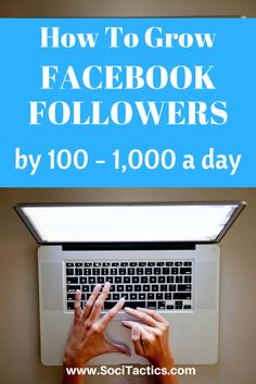 How To Increase Facebook Followers: grow fans on Facebook and get more traffic from Facebook! Check out this guide, and repin if you like it!