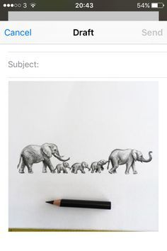 elephant family tattoo - Google Search