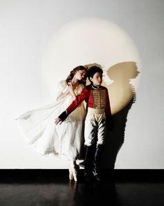 Catherine Hurlin and Philip Perez in ABT's  Nutcracker. Photo: Fabrizio Ferri