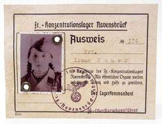 Ausweis Ravensbruck Irene Sauer