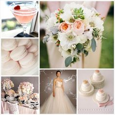 Blush Wedding Color Palette.