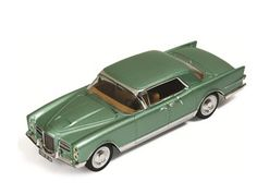 IXO 1:43 Facel Vega Excellence Diecast Model Car MUS051 This Facel Vega Excellence (1960) Diecast Model Car is Metallic Green and has working wheels and also comes in a display case. It is made by IXO and is 1:43 scale (approx. 10cm / 3.9in long). #IXO #ModelCar #FacelVega