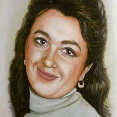 Портрет на заказ.  #portrait #oilpainting #women #arts #oil #портретназаказ #портретпофото #женщина #lyudmilakravtsova
