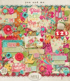 You and Me Bundle | Shabby Miss Jenn Designs