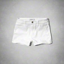 girls a&f high rise shorts