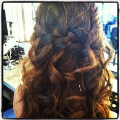 Ideas Braided Wedding Hairstyles For Long Hair Photo 8 --- this is gorgeous!! Just add a few flowers and it would perfect!
