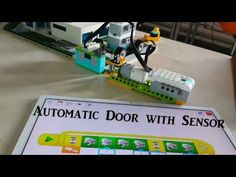 Automatic Exit-Door with WeDo 2.0 Lego Education Project - YouTube