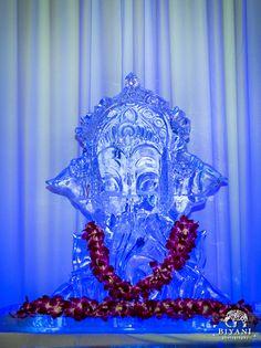 Fusion Ice Sculpture. Zilker Ballroom. Hyatt Regency Austin. Full Spectrum Ice. BluePrint Events. Biyani Photography.