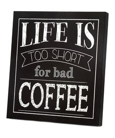 Coffee Wall Art- My new house needs this!