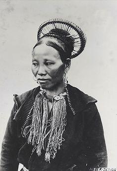 "Indochine   ""Femme Phine Tao Yao"". Lao Kay, Tonkin. ca 1919/1926   ©René Têtard"