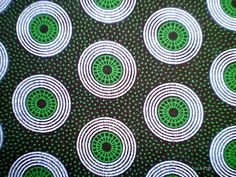 Green Retro Circle - Original South African ShweShwe Designer  Fabric - 100 % Cotton. $15.00, via Etsy. Line Texture, Texture Design, Color Lines, Colour, Fabric Names, Deck Design, Textile Patterns, Background Patterns, Pattern Wallpaper