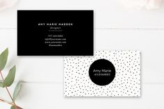 Business Card Template by By Stephanie Design on @creativemarket