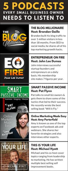 These podcasts will make you an expert in marketing and help you grow your business to new heights.