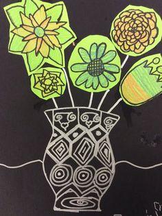 Spring Flowers on Black | Mini Matisse | Bloglovin'