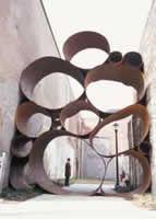 Cool art installation made from Corten Steel