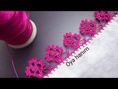 Yeni güzel çiçek iğne oyası modeli anlatımlı yapılışı - YouTube