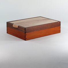 Valet Jewelry Box or Keepsake Box by JMCraftworks on Etsy