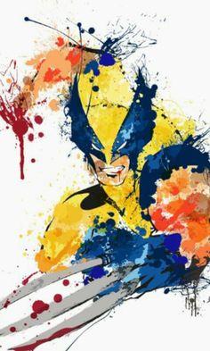 Wolverine ( X-Men ) // Marvel // Art Comics Anime, Marvel Comics Art, Marvel Comic Books, Marvel Heroes, Comic Books Art, Comic Art, Wolverine Logan, Wolverine Art, Deadpool Wolverine