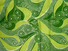 1970's Indonesian Batik Fabric Java Indonesia by TheIDconnection