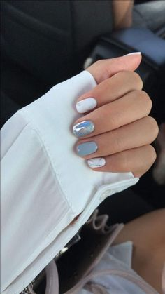 Try out something different for every one of your nails and you're going to be surprised. Make certain your paint area is large enough to fit a couple of nails. Nail art designs for extended … Great Nails, Perfect Nails, Gorgeous Nails, Nail Manicure, Diy Nails, Chellac Nails, White Shellac Nails, Gel Pedicure, Nails 2016