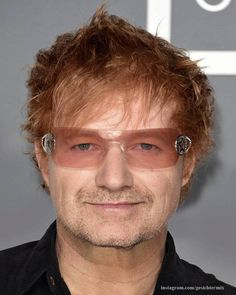 Photoshop Master Seamlessly Combines Two Celebrities Into One - Photoshop master combines two celebrities together to create one famous face