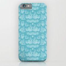 Chevron Toile, Light Blue Slim Case iPhone 6s