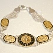 Meander Lion's Head Bracelet