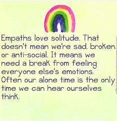 I am empath. That's my life. Empath Traits, Intuitive Empath, Spiritual Healer, Spiritual Awakening, Empath Abilities, Infj Personality, Introvert, Infp, Me Time