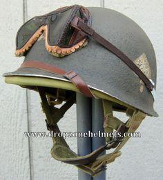 WWII M1 101st Airborne Helmet 506th Repro Hawley Paratrooper Liner Schlueter FB