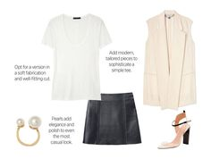 Making your white tee cool and chic for summer. For more style inspiration and insider tips click here.