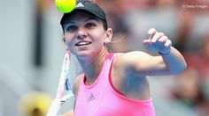 Halep celebrated her fourth straight defeat of Petkovic, but she neeed a third set tie-break to get through.