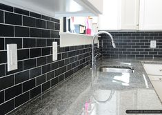 new-calediona-granite-black-slate-kitchen-backsplash-tile