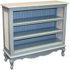 Country French Bookcase from PoshTots #PoshTotsNursery