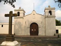 Church of San Bartolo in La Antigua Guatemala