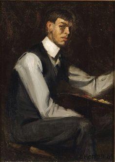 Self Portrait by Edward Hopper