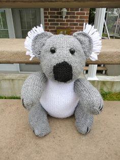 Koala tricotado