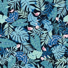 Find Vector Seamless Cute Hand Drawn Tropical stock images in HD and millions of other royalty-free stock photos, illustrations and vectors in the Shutterstock collection. Motif Tropical, Tropical Pattern, Tropical Leaves, Illustration Jungle, Jungle Flowers, Jungle Pattern, Botanical Wallpaper, Plant Images, Wild Nature