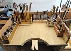 Create some DIY tool storage systems and increase your efficiency.