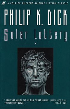 Solar Lottery by Philip K. Book Cover Art, Book Covers, Lotto Lottery, K Dick, Sci Fi Art, Ursula, Monkeys, Parka, Science Fiction
