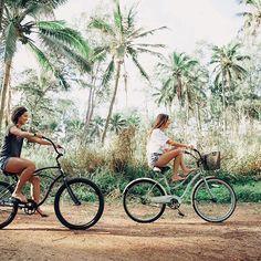 Biking adventures
