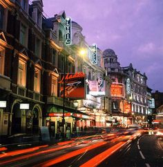 West End, London...theatres!!!!   It will be incredible...I can't even imagine it right now!
