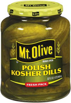 Mt. Olive Pickles - Kosher Dill Pickle Barrel?