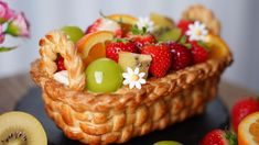 Acai Bowl, Waffles, Good Food, Food And Drink, Appetizers, Sweets, Cookies, Baking, Fruit