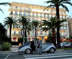 2010 (Feb). The West End Hotel, Nice - on the Promenade des Anglais, which runs along the beachfront. Stunning views of the sea.