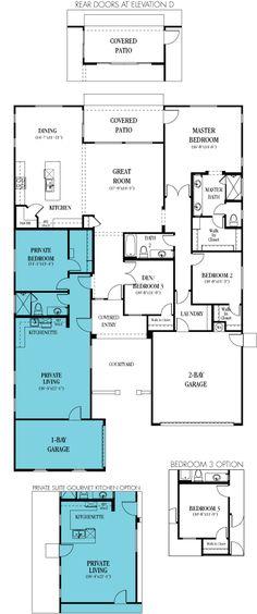 Main Floor Plan 2 For D 583 One Story Duplex House Plans, 2 Bedroom Duplex  Plans, Duplex Plans With Garage, D 583b | Small U0026 Convenient Living |  Pinterest ...